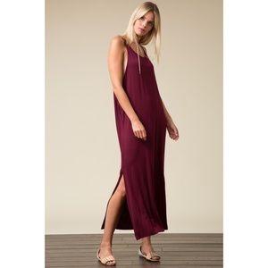 Love in Dresses - 🌿{OLIVE} Drape Side Maxi Dress